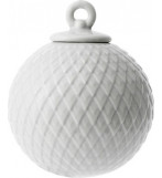 Rhombe Bauble Soft Grey