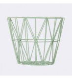 Wire Basket 60x45 Cm Mint