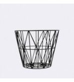 Wire Basket 40x35 Cm Sort