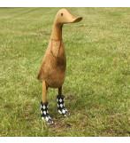 Ducklet Sort/Hvid Harlequin