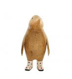 Natural Welly Penguin - Hvide gummistøvler med røde hjerter