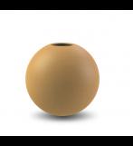 Ball Vase 20 cm - Okker