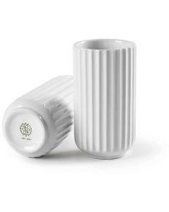 Lyngbyvasen 6 cm - hvid