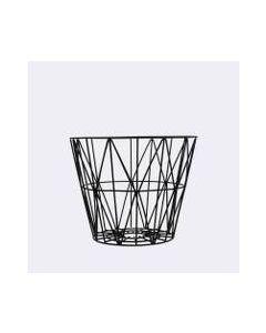 Wire Basket 40x35 Cm Sort