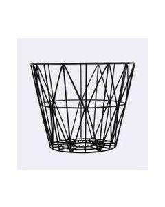Wire Basket 60x45 Cm Sort