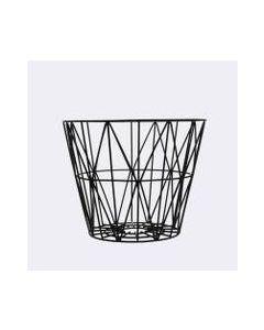 Wire Basket 50x40 Cm Sort