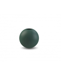 Ball Vase 8 cm - Mørk Grøn