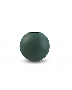 Ball Vase 10 cm - Mørk Grøn