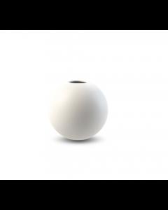 Ball Vase 8 cm - Hvid