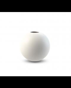 Ball Vase 10 cm - Hvid