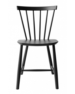 J46 spisebordsstol - Sort