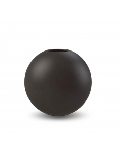 Ball Vase 20 cm - Sort