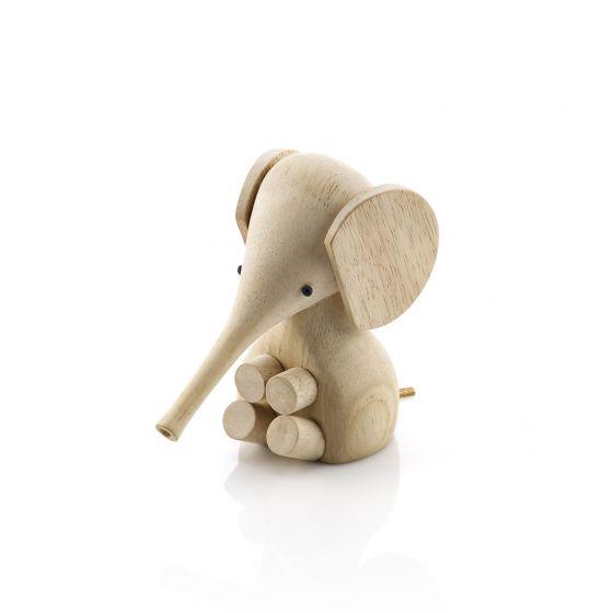 Gunnar Flørning Elefant i Gummitræ